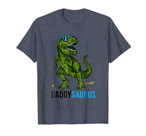 Daddysaurus T Shirt T rex Daddy Saurus-Dad Fathers Day Gift