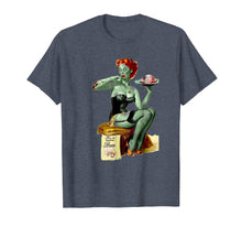 Load image into Gallery viewer, Zombie Pin Up Girl Halloween T-shirt