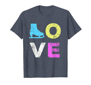Love Skate Team Fan Gift T-Shirt
