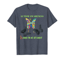 Load image into Gallery viewer, Born to be Set Apart Autism Awareness Butterfly T-shirt