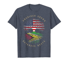 Load image into Gallery viewer, American Grown Guyanese Roots Guyana Flag T-Shirt