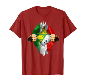 Club Leon Heartbeat Inside Love Mexico Fan Club Leon Fc T-Shirt
