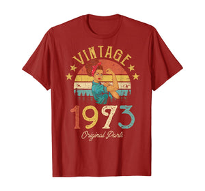 Vintage 1973 Made in 1973 46th birthday 46 years old Gift T-Shirt
