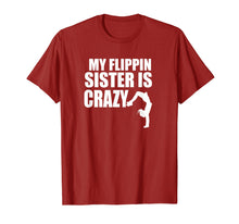 Load image into Gallery viewer, Brother Sister Gymnastics Tumbling Cute Gymnast Flip T-Shirt