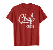 Load image into Gallery viewer, Chef Graduation T-Shirt Culinary School Graduation Gift