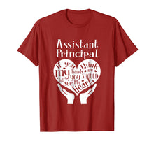 Load image into Gallery viewer, Assistant Principal Heart Hands Back To School T-Shirt