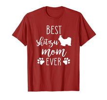 Load image into Gallery viewer, Best Shitzu Mom Ever Shirt Dog Mother's Day Gift
