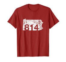 Load image into Gallery viewer, Erie Altoona Area Code 814 Shirt, Pennsylvania Gift