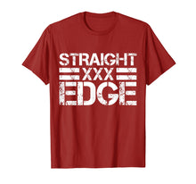 Load image into Gallery viewer, Straight Edge T-Shirt - XXX Vegan Drug Free Shirt