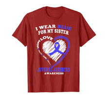 Load image into Gallery viewer, Juvenile Arthritis Shirt - I Wear Blue For My Sister