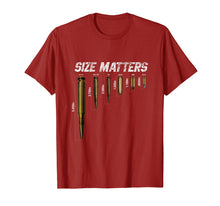Load image into Gallery viewer, Size Matters Bullets T Shirt