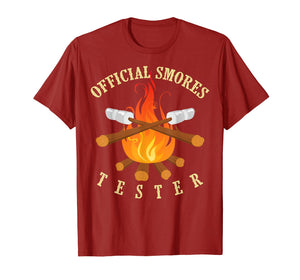 Official Smores Tester Shirt | Cute Legit S'more Taster Gift