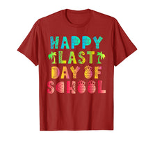 Load image into Gallery viewer, Happy Last Day Of School Teacher Boys Girls Kids Shirt Gift