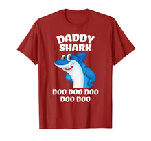 Load image into Gallery viewer, Daddy Shark Shirt Fathers Day Gift From Wife Son Daughter T-Shirt
