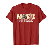 Load image into Gallery viewer, Movie Night T-Shirt Family Movie Night Shirts Popcorn Tees
