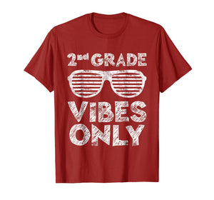 2nd Grade Vibes Only T-Shirt Second Grade Back To School