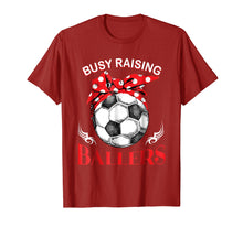 Load image into Gallery viewer, Busy Raising Ballers Soccer Ball T-shirt Women