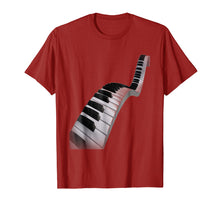 Load image into Gallery viewer, Abstract Piano Keys T-Shirt