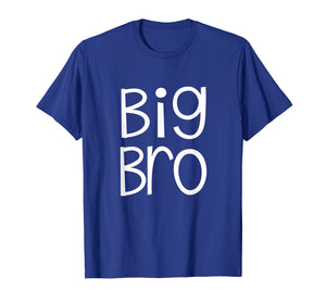 Big Bro Kids T Shirt Older Brother Boys Siblings Day Gift
