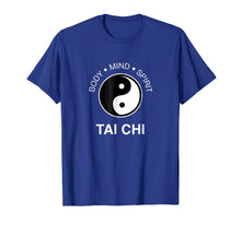 Load image into Gallery viewer, The Art Tai Chi Tshirt - Body Mind Spirit Yin Yang Tee