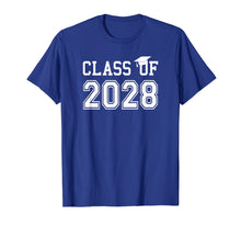 Load image into Gallery viewer, Class Of 2028 Graduation T Shirt Future School Graduate Gift