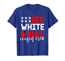 Load image into Gallery viewer, Cousin Crew 4th of July Shirt Kids Family Vacation Group