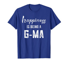 Load image into Gallery viewer, Happiness is Being a G-ma Shirt Mothers Day Gift Pregnancy