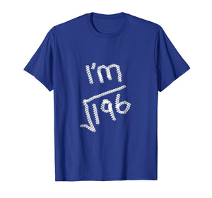 14 Years Old Math T Shirt- Square Root of 196