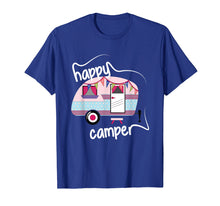 Load image into Gallery viewer, Happy Camper Road Trip Camping Vacation Glamping T-Shirt