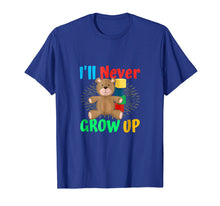 Load image into Gallery viewer, AB/DL I never grow up Bear Blocks abdl ageplay TSHirt Tee