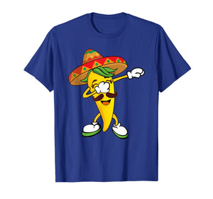 Dabbing Yellow Chili Pepper Mexican Hot Dab Shirt