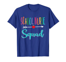 Load image into Gallery viewer, School Nurse Squad Teacher Back To School T-Shirt