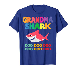 Grandma Shark Doo Doo Shirt for Matching Family Pajamas
