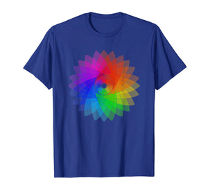Mandala Color Wheel Art t-shirt for artists