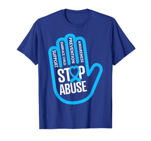 Child Abuse Awareness T Shirt - show your support for kids