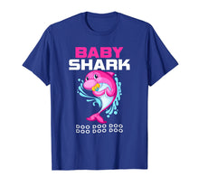 Load image into Gallery viewer, Baby Shark Shirt Doo Doo Cute Gift From Daddy Mommy Grandpa