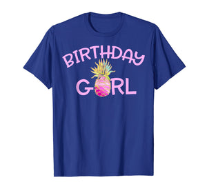 Birthday Girl Pineapple Birthday Shirt