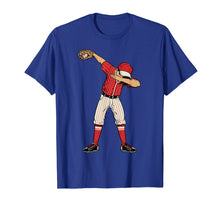 Load image into Gallery viewer, Dabbing Baseball Catcher Gift Shirt Men Boys Kids BZR