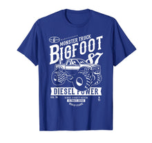 Load image into Gallery viewer, Monster truck Bigfoot T-shirt Vintage Graphic Design Shirt