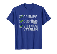 Load image into Gallery viewer, Veterans Shirt Grumpy Old Vietnam Veteran Tee Men Women Gift