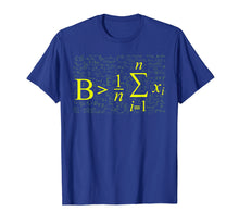 Load image into Gallery viewer, Be Greater Than Average - Math Lovers Back To School T Shirt