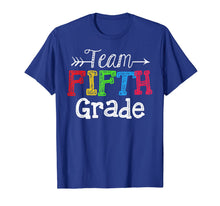 Load image into Gallery viewer, Team 5th Fifth Grade Tshirt Teacher Back To School Gift T-Shirt