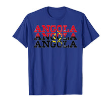 Load image into Gallery viewer, ANGOLA | Angolan Flag Sports Lovers T-Shirt