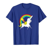 Load image into Gallery viewer, Middle Finger Unicorn T-shirt Funny Sarcastic Joke Tee