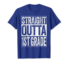 Load image into Gallery viewer, Straight Outta 1st Grade T-Shirt Funny First Grade Gift