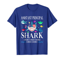 Load image into Gallery viewer, Assistant Principal Shark Doo Doo Doo T-Shirt Gift