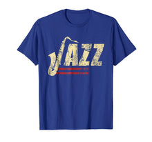 Load image into Gallery viewer, Vintage Jazz Lovers Shirt Music Band Player Tshirt Saxophone