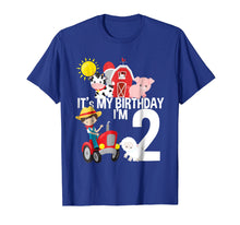 Load image into Gallery viewer, It's My Birthday Farm Theme Birthday Gift 2 Yrs Old Shirt