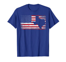 Load image into Gallery viewer, American Flag Texas 4th of July Vintage Gift Men Women Shirt