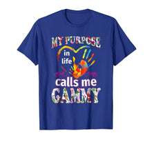 Load image into Gallery viewer, GAMMY -My Purpose In Life Calls Me GAMMY TShirt